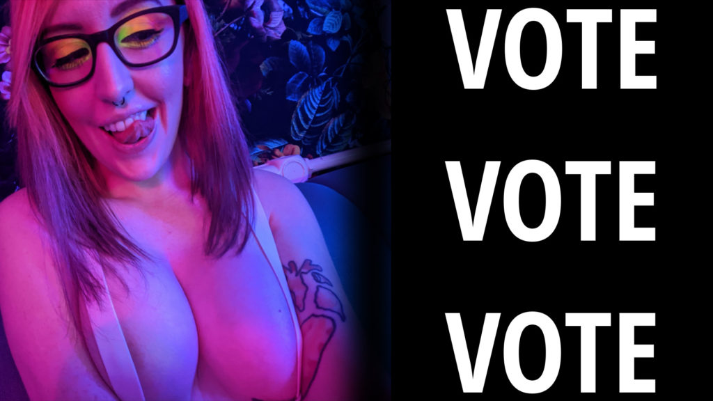 Vote in AVN Star's Most Creative Makeup Contest